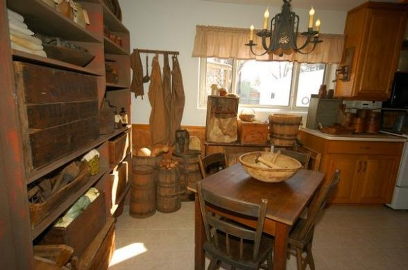 Love The Patina Primitive Kitchens Pinterest