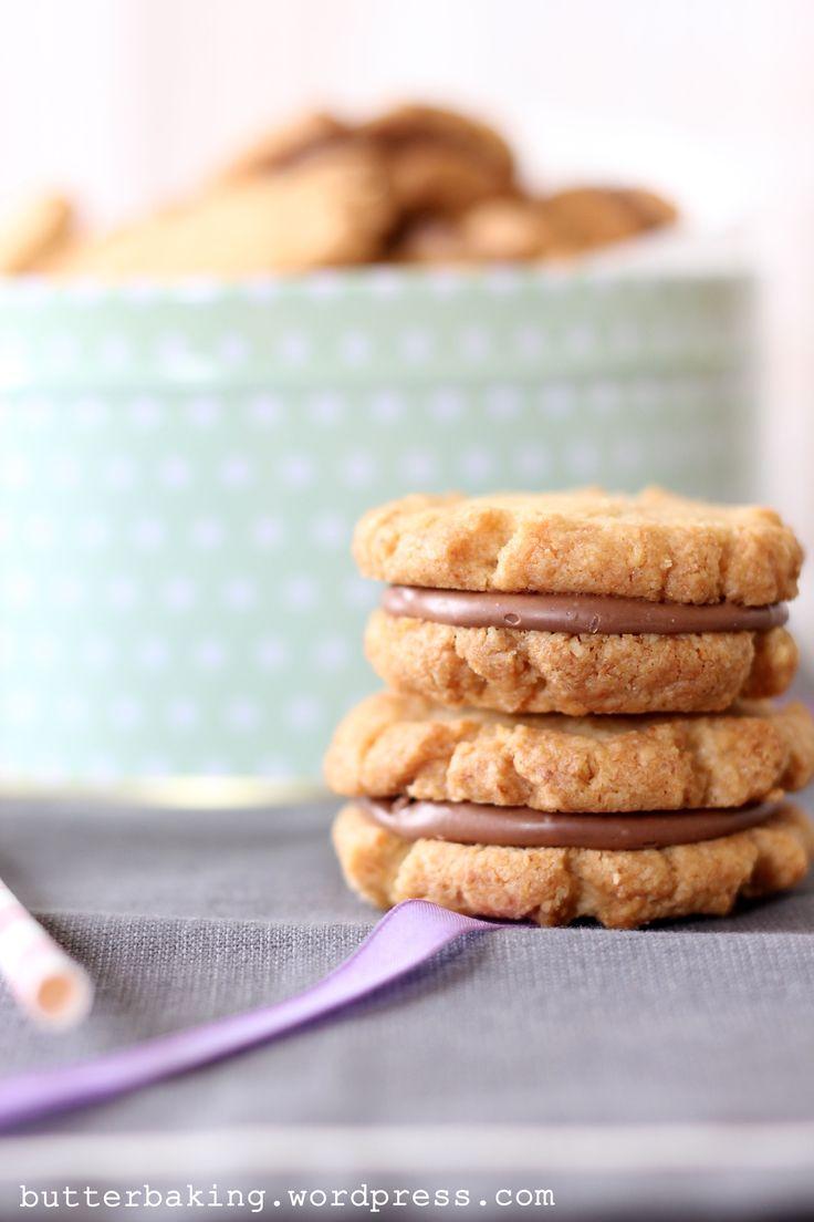 Milk Chocolate Hazelnut Sandwich Cookies