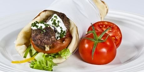 Grilled Lamb Meatball Sandwich | Burgers, Wraps, Sandwiches and Quesi ...