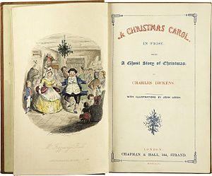 A Christmas Carol, Charles Dickens.