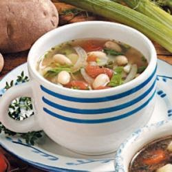 White Bean with Fennel Soup | Recipe