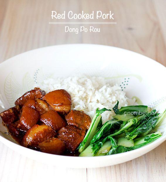 Red Cooked Pork - Dong po pork | Pork | Pinterest