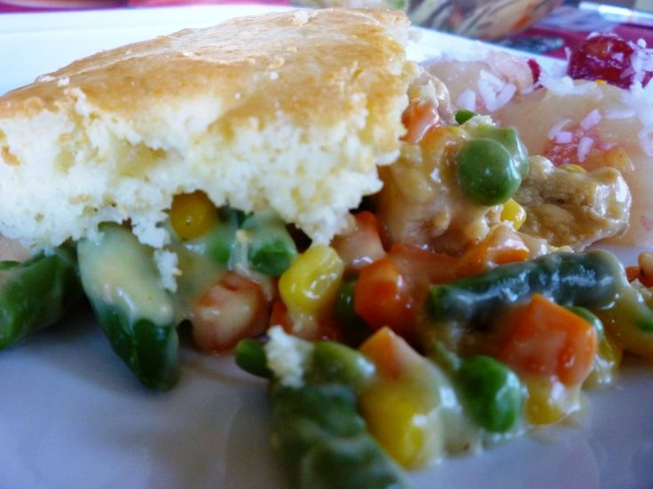 Easy Chicken Pot Pie | Recipes to try | Pinterest