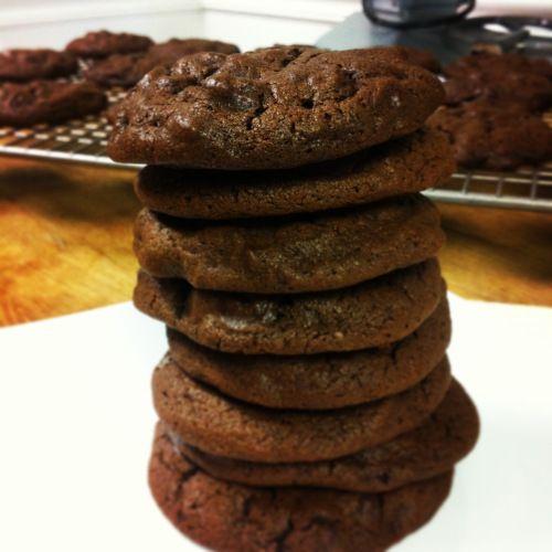 Dark Chocolate Guinness Cookies | Bake a Cake | Pinterest