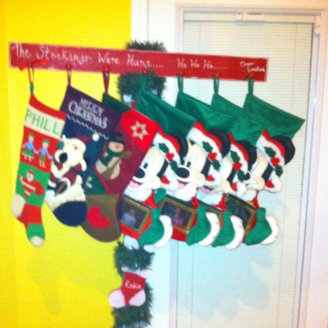 Homemade Stocking Holder Christmas Ideas Pinterest