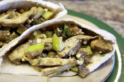 Curried Chicken & Apple Pita | Recipe