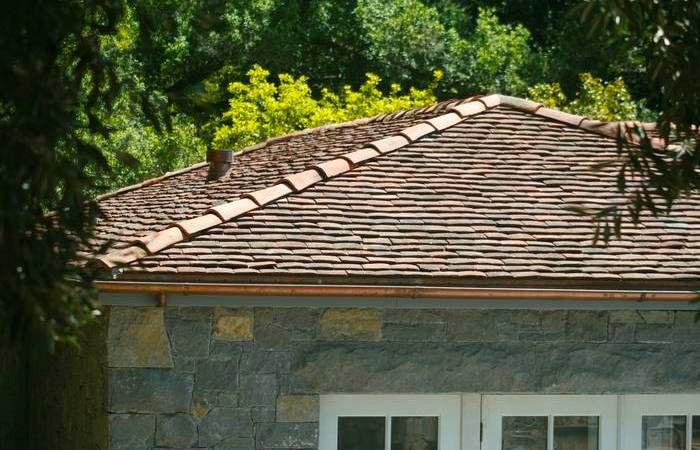 Red Clay Flat Tile Roof Gardenista Modern Farmhouse