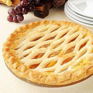 Peach Lattice Pie | Delightful Desserts | Pinterest