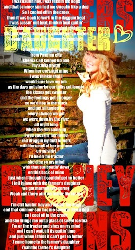Kinda pretty he fell in love with the farmer s daughter love this song
