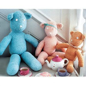 Teddy Bear Knitting Patterns Free Download : TEDDY BEAR KNITTING PATTERNS FREE DOWNLOAD   KNITTING PATTERN