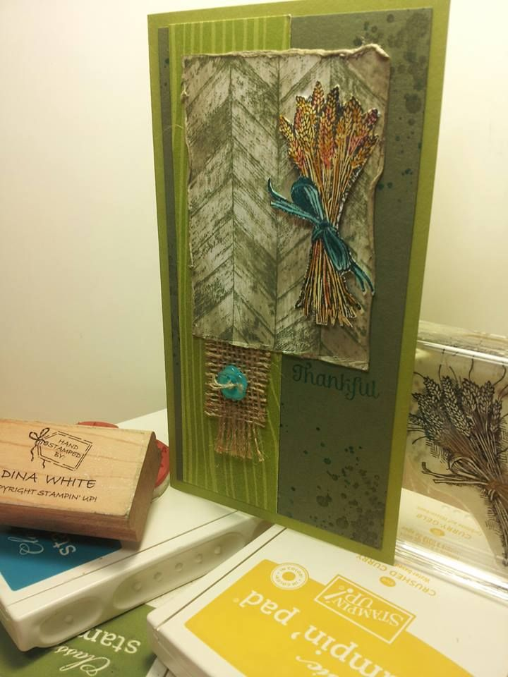 Truly grateful stampin up dina white cards i have made pintere