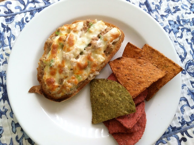 Skinny Tuna Melt- Skinny on Calories and fat, but BIG on Taste!!!