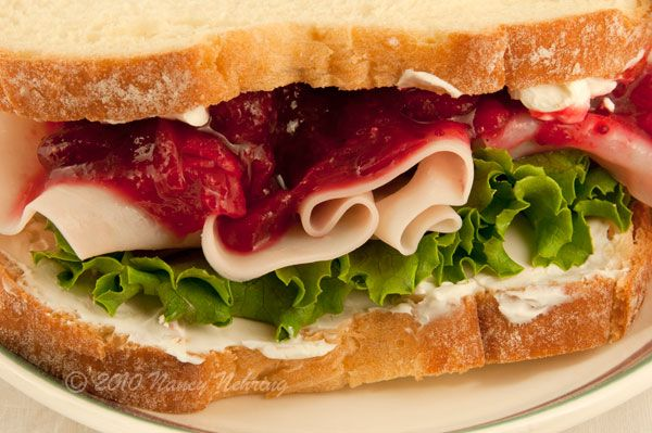 Turkey, Havarti and Cranberry sandwiches | Fall Baby Shower Ideas | P ...