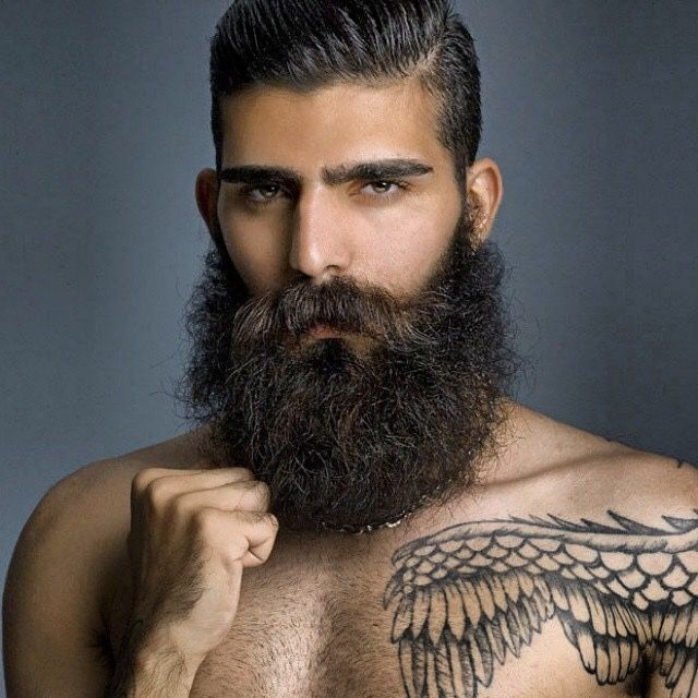 Barbe de hipster style Indien