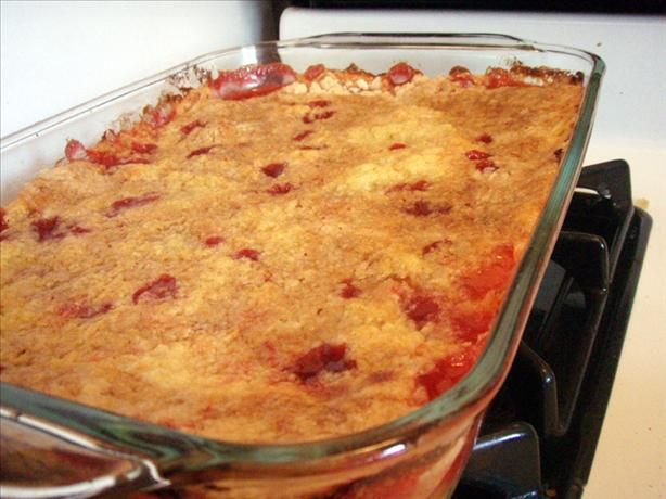 Dump Cake. Made this for years with only pie filling (any flavor ...