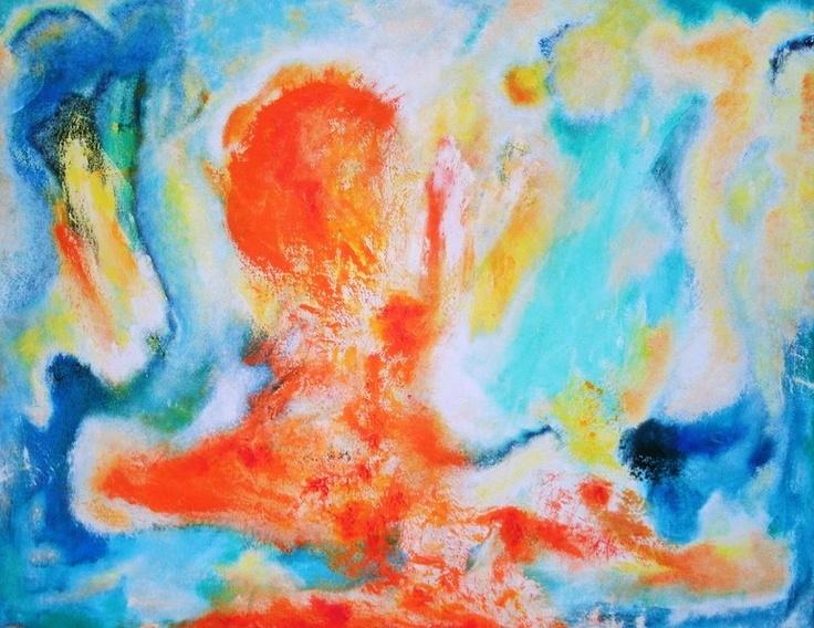 "Saatchi Online Artist: Hugo Navarro; Oil, Painting """"Oraye"""": pinterest.com/pin/47217496065672293"