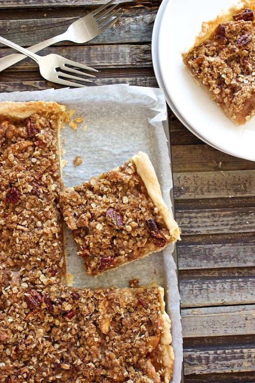 Apple slab pie -- baked on a sheet pan instead of in a pie plate, a ...