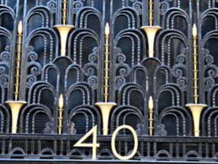 Art Deco facade  Great Gatsby  Pinterest