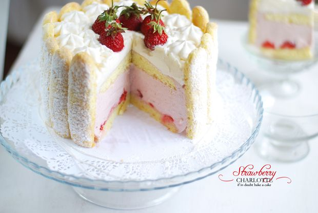 Strawberry Charlottes Recipe — Dishmaps