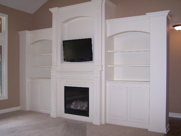 Fireplace And Tv Fireplace Built In Entertainment Center Pinterest