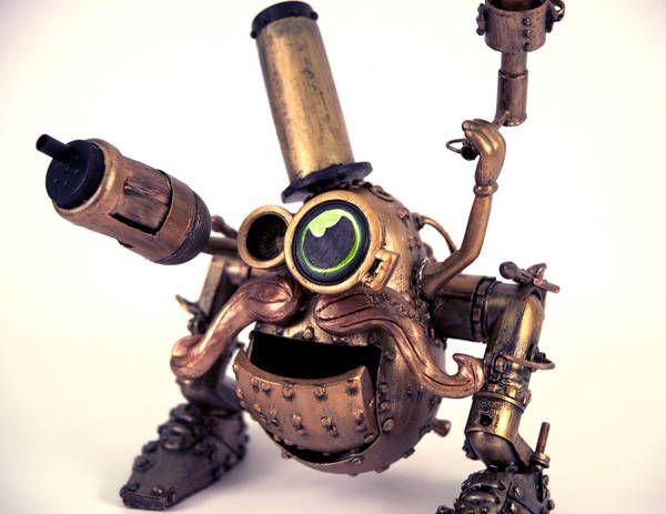 steampunk Mr Potatohead
