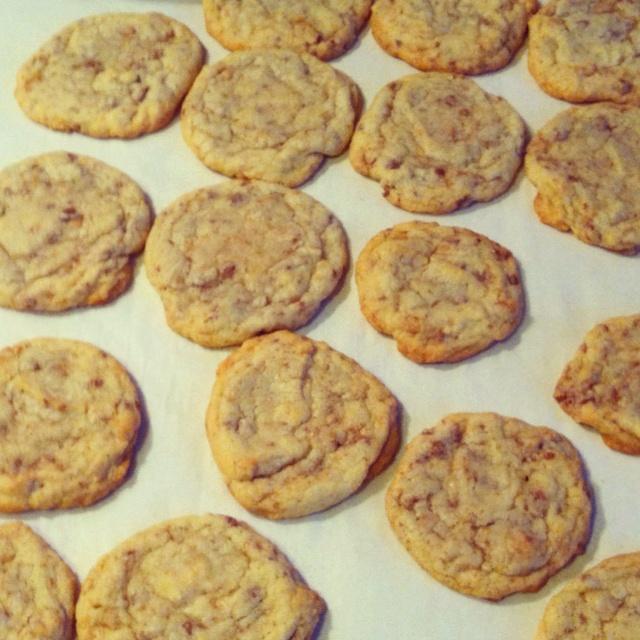 Heath bar cookies | Recipes | Pinterest