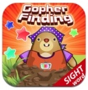 Gopher Finding: Fun app to practice sight words. Click for our teacher review.
