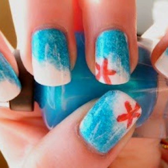 download this Star Fish Nails picture