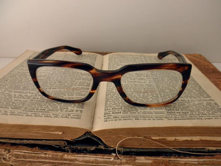Vintage Tortoise Shell Eyeglass Frames : vintage Rodenstock tortoise shell eyeglass frames- glasses ...