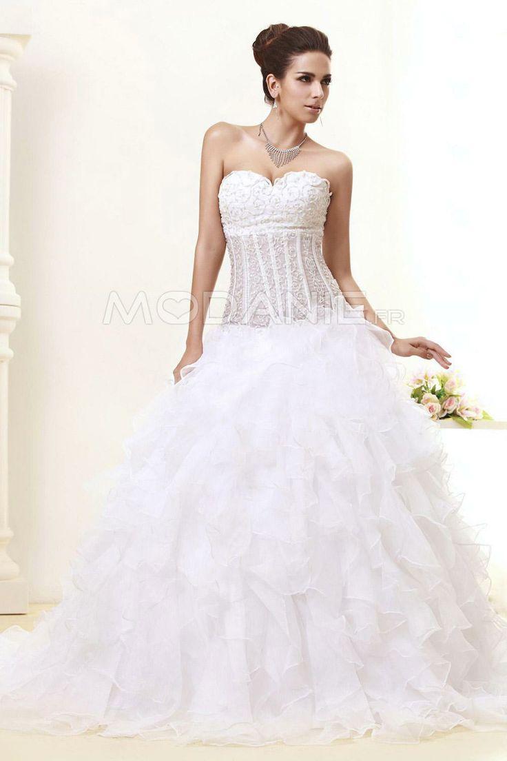 Robe de mariée princesse  Robe de mariée  Pinterest