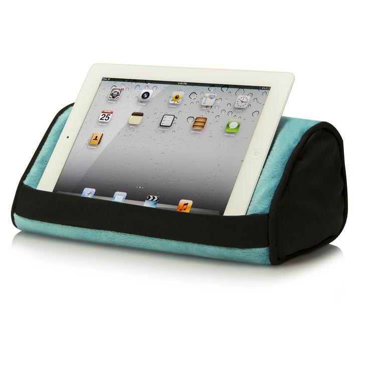 Cute Tablet Pillow : Tablet Pillow , Aqua