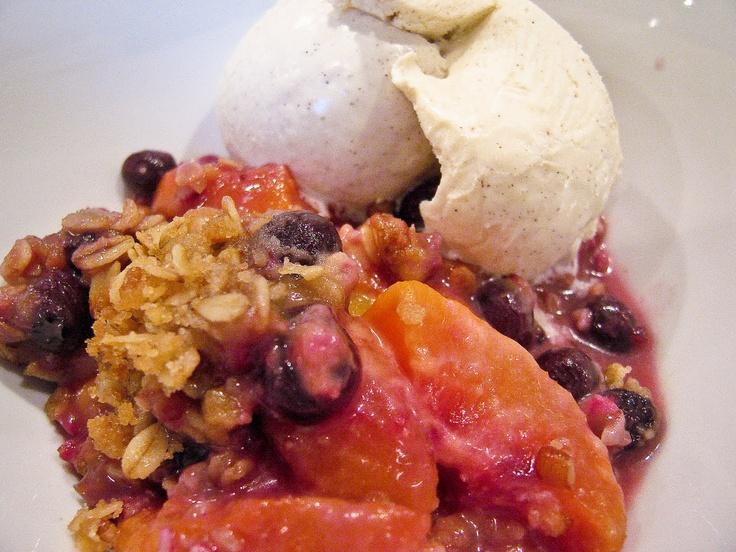 Blueberry Peach Crisp | Recipe