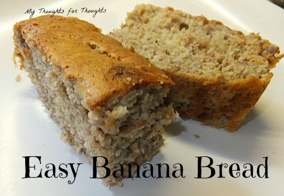 Easy Banana Bread | I should have been a baker | Pinterest