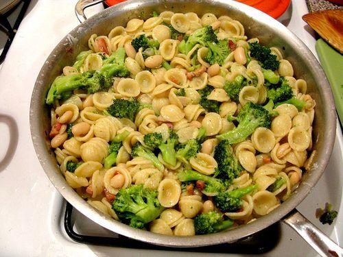 Orecchiette with Broccoli & Pancetta - Amateur Gourmet