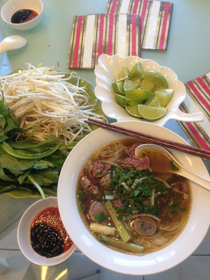 Vietnamese Beef Phó Rice Noodle Soup | Jade Yuyu | Pinterest