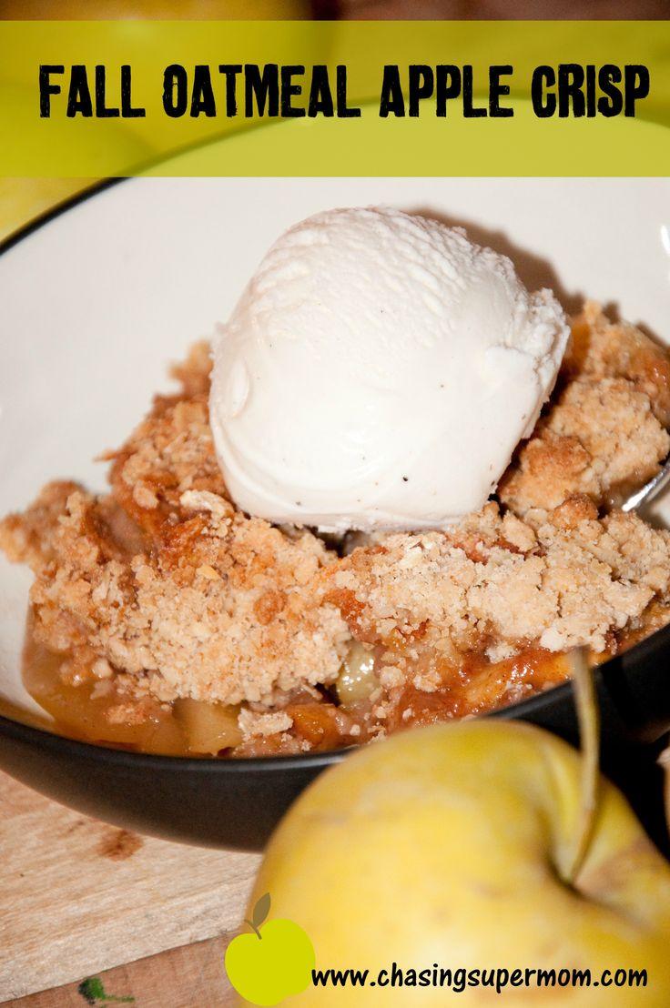 Fall Oatmeal Apple Crisp | sweet treats and tips | Pinterest