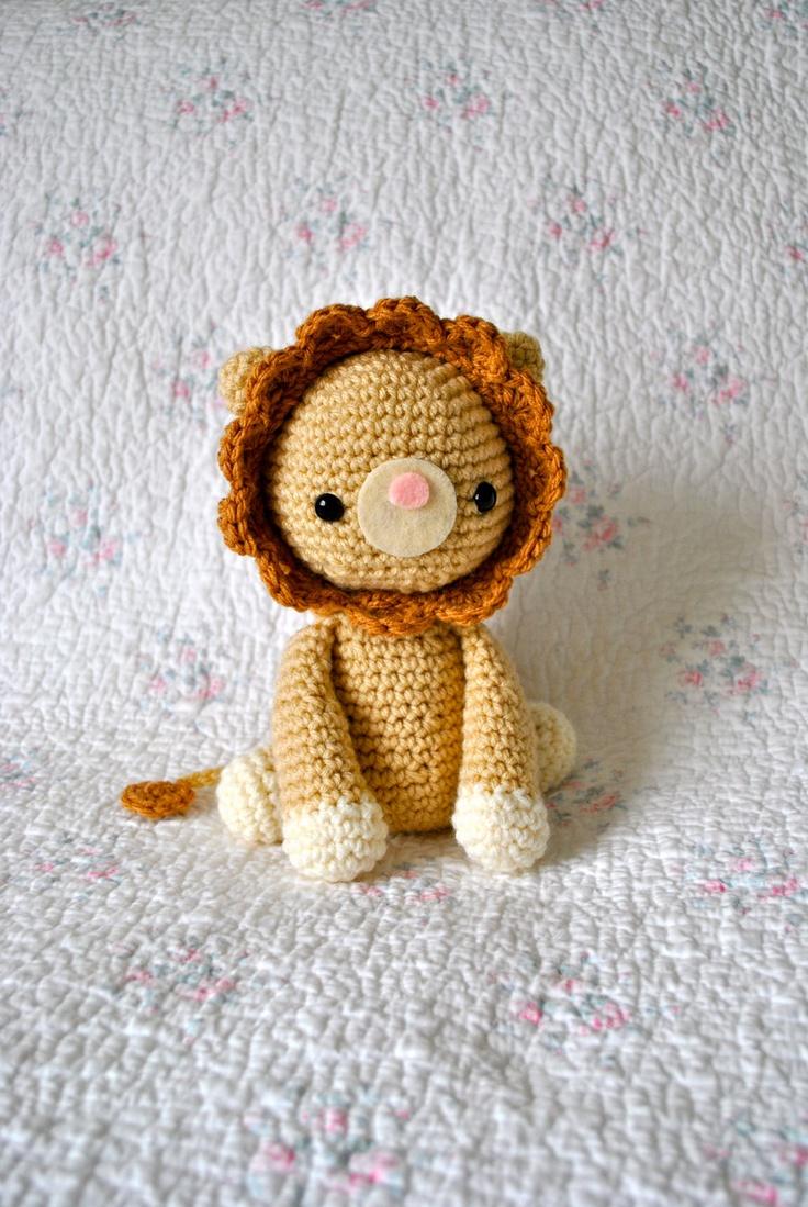 Amigurumi Patterns Lion : Amigurumi PDF Pattern Roy the Lion. USD4.00, via Etsy.
