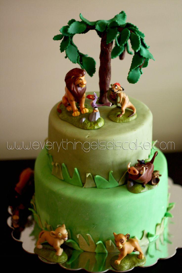 Decorating Ideas > For Violet? Lion King Cake  Birthday Party Ideas  Pinterest ~ 134721_Lion King Cake Decoration Ideas