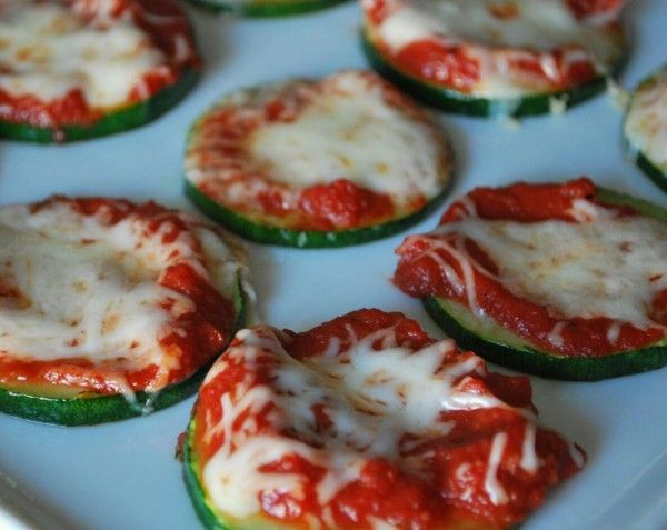 Zucchini Pizza Bites | Anyone can cook | Pinterest