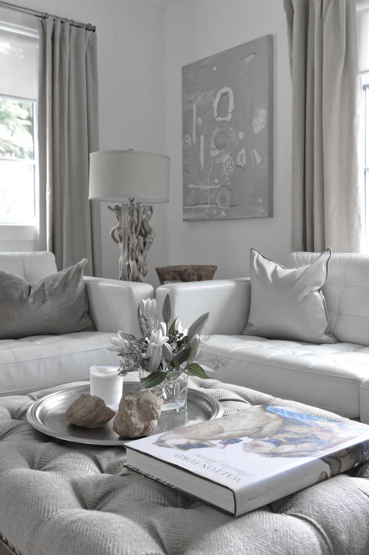 Dove gray home decor white grey living room for the for Living room ideas gray