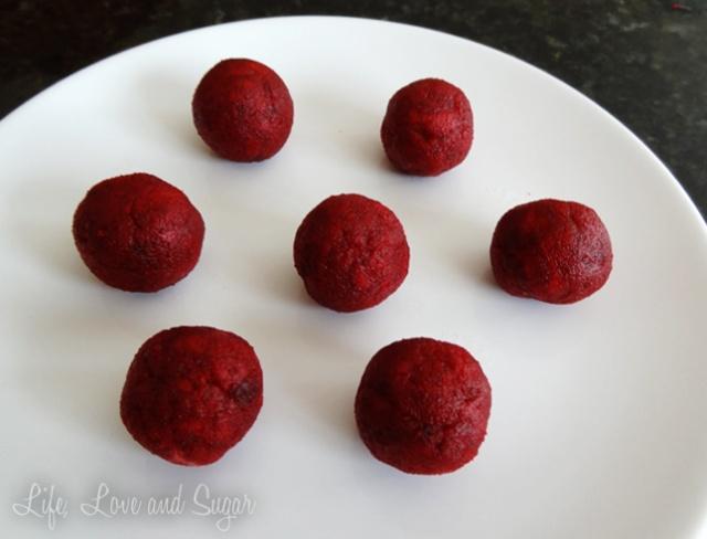 valentines red velvet cake pops recipe