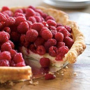 Raspberry Custard Tart | Delightfully Delicious Desserts | Pinterest