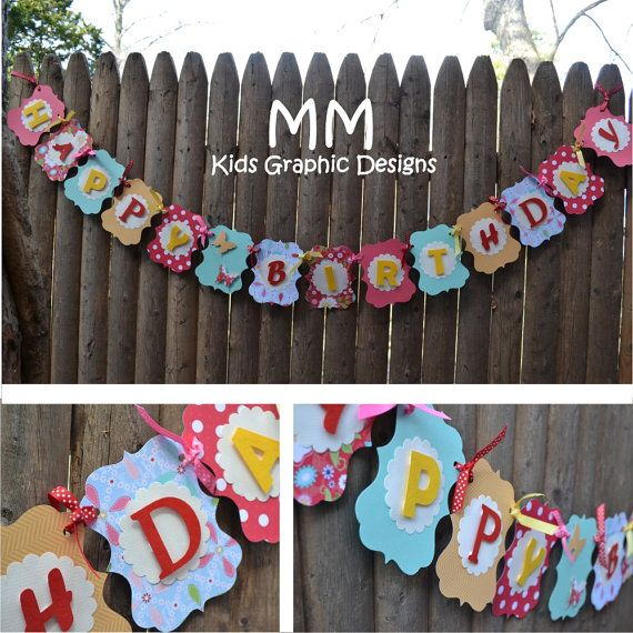 customized banners for birthdays