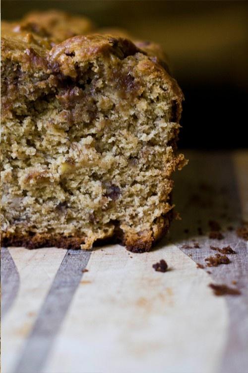 Peanut butter banana bread | Eat Well | Pinterest