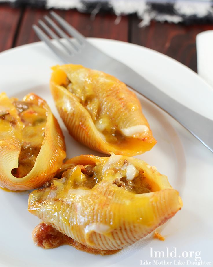 Mexican Stuffed Shells #lmldfood