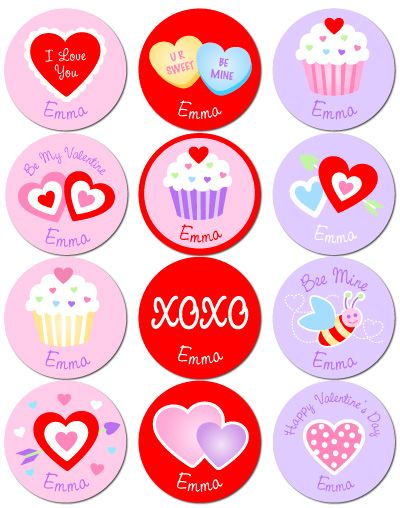 valentine's day stickers uk