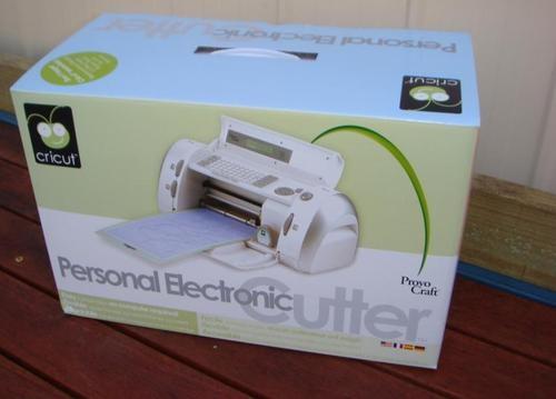 cricut personal cutter machine