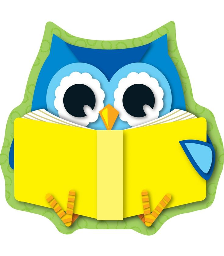 reading owls cutouts | Owls | Pinterest