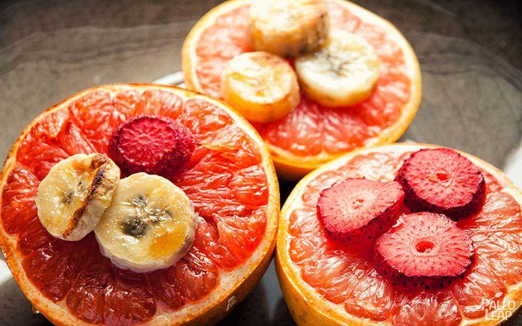 Broiled Grapefruit Recipe SERVES: 4 PREP: 5 min.COOK: 6 min ...