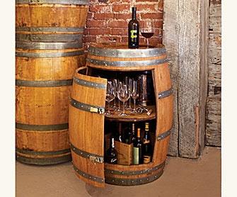 Wine Barrel Bar DIY Ideas Pinterest